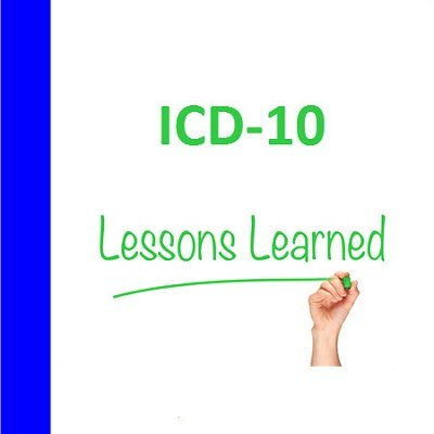Webinar 450x450 ICD10 Lessons learned